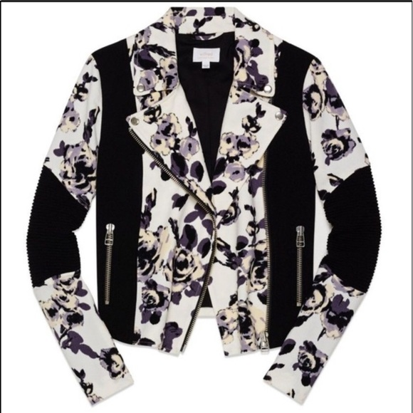 Wilfred Jackets & Blazers - Wilfred Aritzia Floral Bomber Jacket